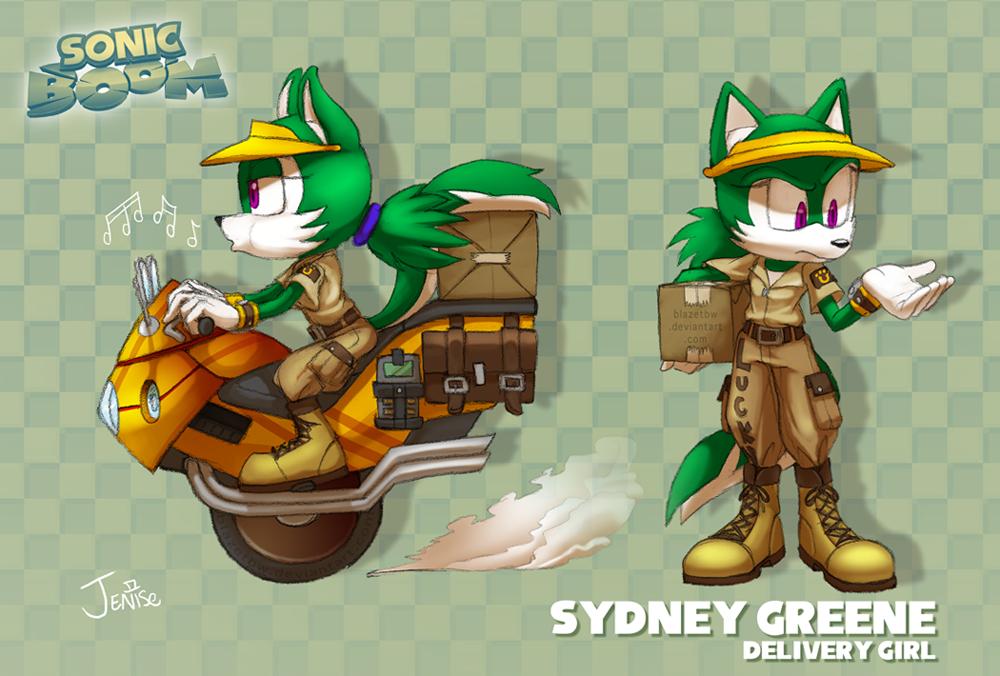 Sydney Greene - Boom! ref by BlazeTBW