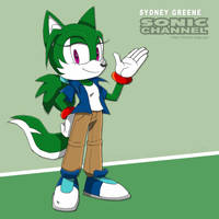Sonic Channel: Sydney Greene by BlazeTBW
