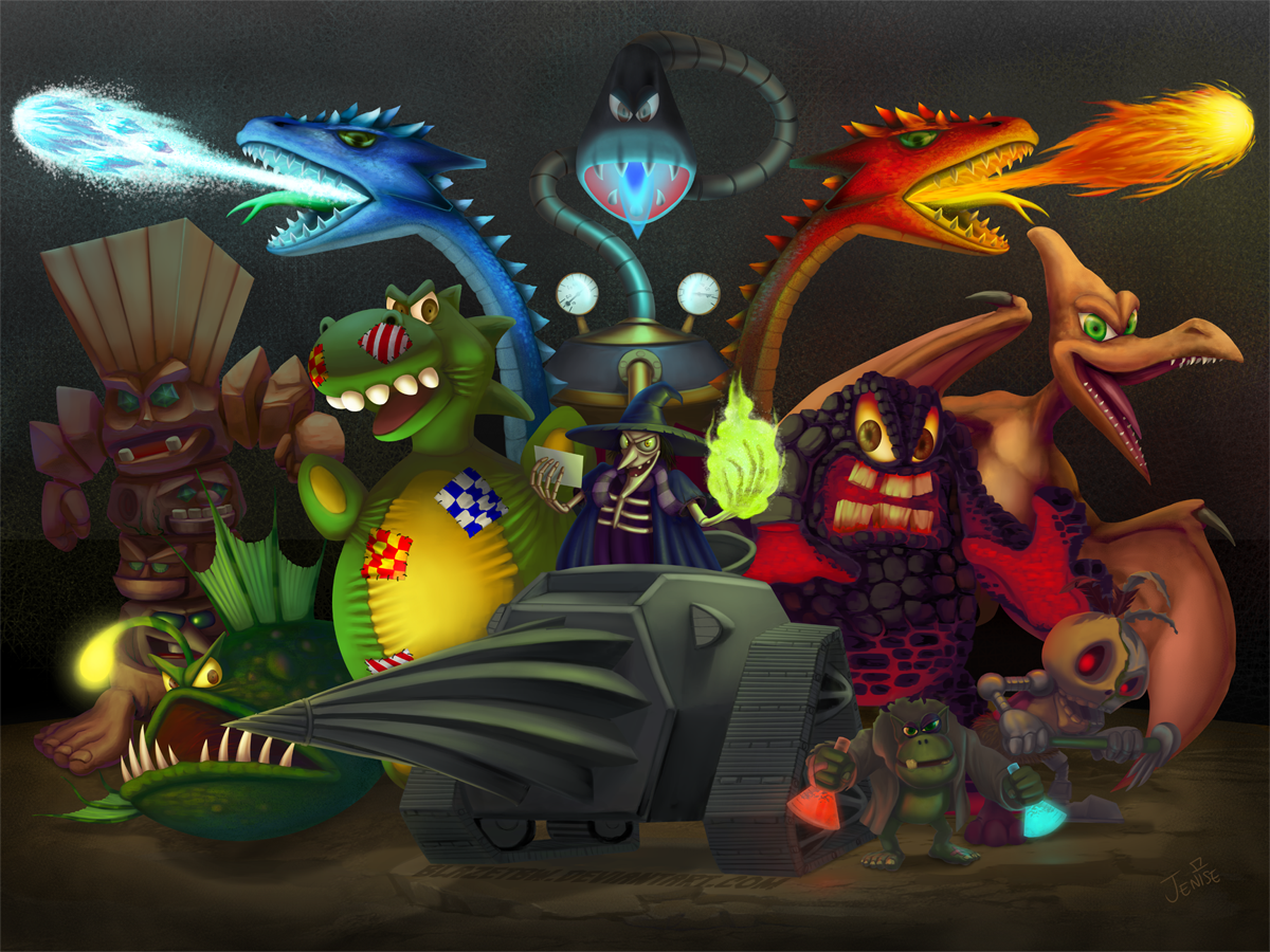 banjo tooie boss rush by blazetbw on deviantart