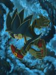 Palette Practice - Sonic by BlazeTBW