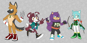 Adoptables: Sonic Fan Dogs - SOLD