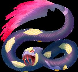 Seviper used Poison Tail by BlazeTBW