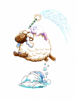 A Wooloo in Dreamland