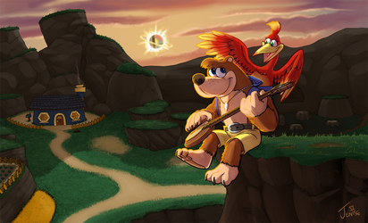 Banjo and Kazooie are Home