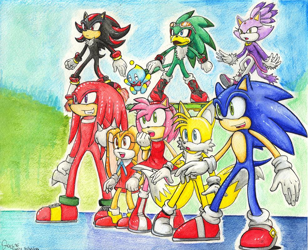 Sonic Allstars 06 by BlazeTBW