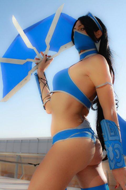 Kitana - Mortal Kombat 9 by VioletWitch666