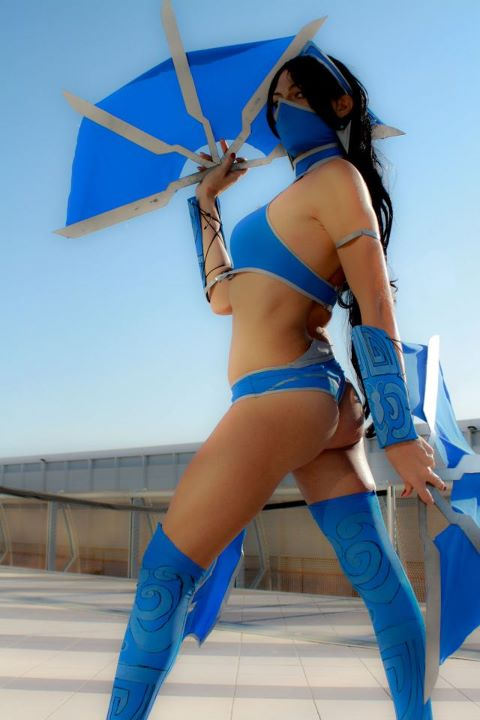 Kitana - Mortal Kombat 9 by Mikela-Frost