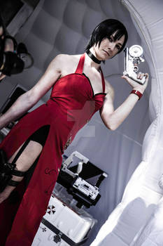 Ada Wong : Umbrella Corporation Lab. reached