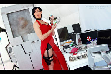 Ada Wong : Samples acuqired - time to go