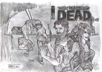 The Walking Dead - The angel's defeat