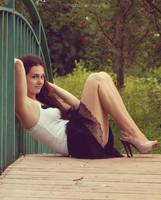 On the bridge by Malinovskaja