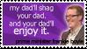 Frankie Boyle Stamp 3 by futuretarded-muser