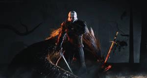 Geralt of Rivia by INGYUARTS