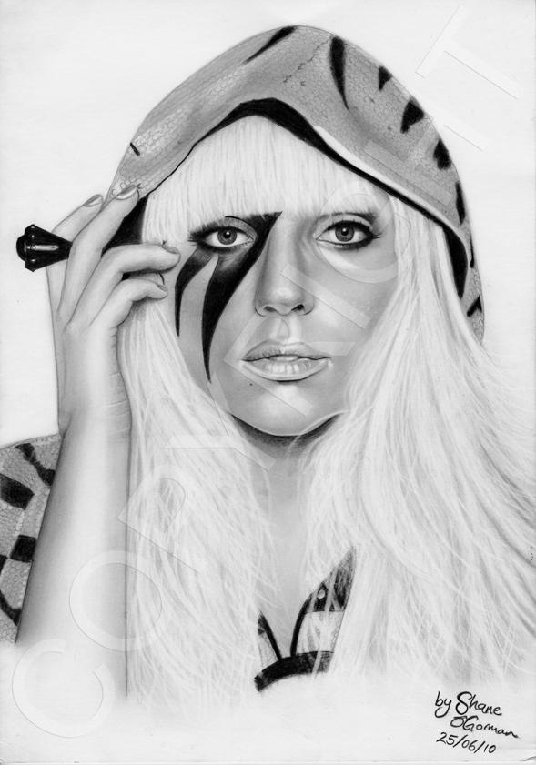 Lady GaGa 2 by scarshane