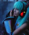 Miku- light up headphone