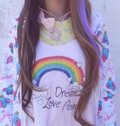 fairy dream,love and peace by aiko-yume