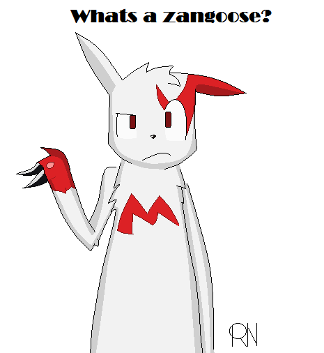 Whats a zangoose by RandomNutz