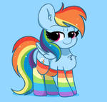 Rainbow Dash: Socks