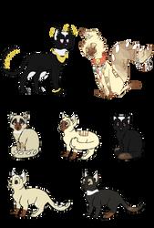 Espiago x Batur kittens [2/5] by sinners-adopts