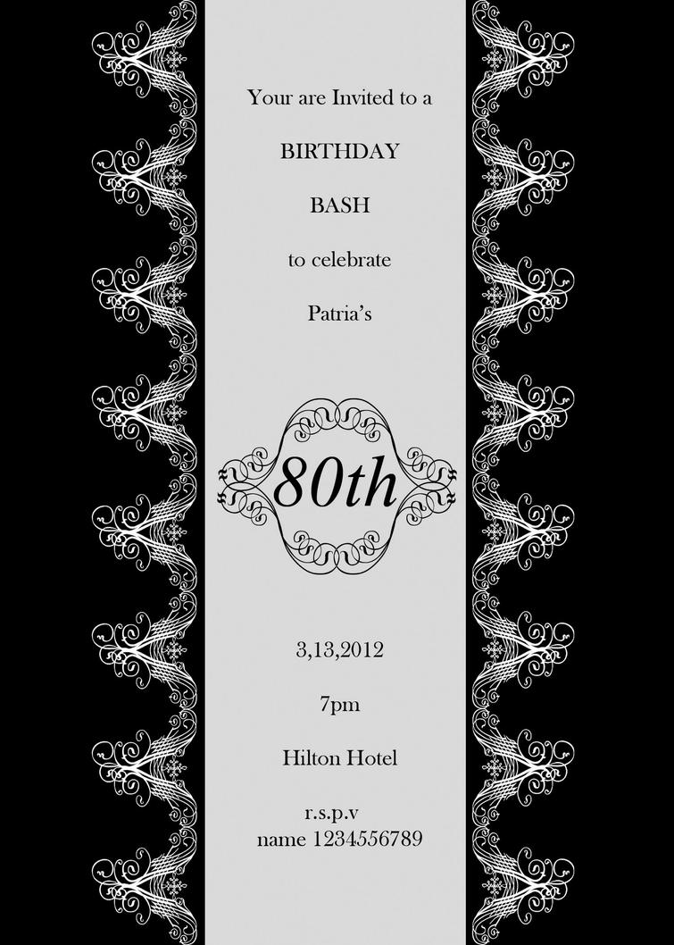 Formal birthday invitation by ickxuverant on deviantart formal birthday invitation by ickxuverant stopboris Image collections