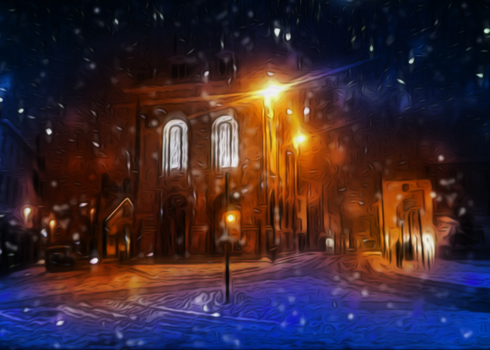 Christmas Eve by hallbe