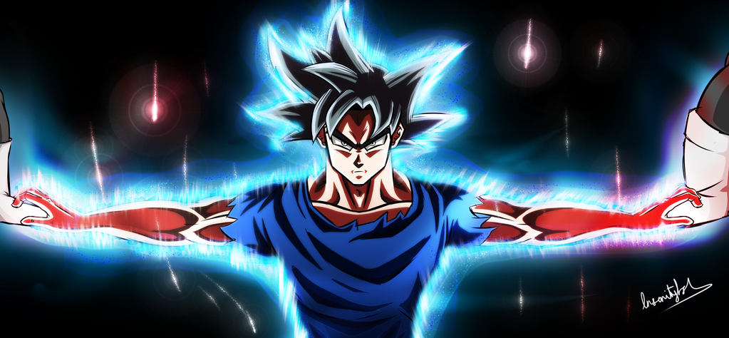 Image result for goku ultra instinct
