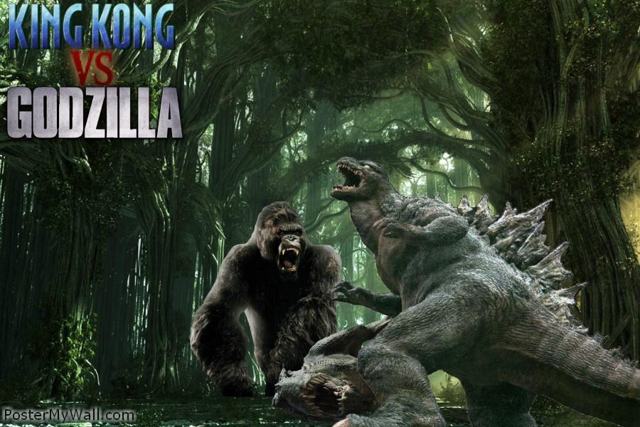 King Kong vs Godzilla again by SuperGodzillaGodzilla Vs King Kong 2014