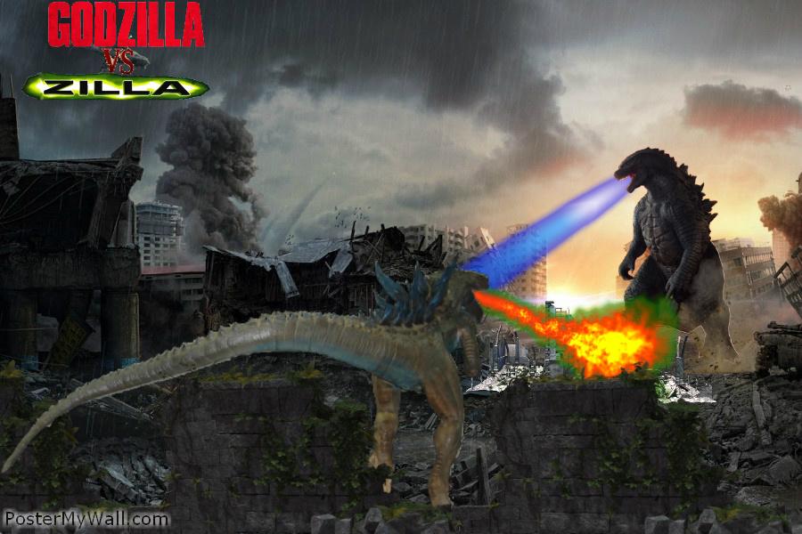 Godzilla 1998 Vs Zilla   www.imgkid.com - The Image Kid ...