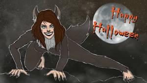 Werewolf Kira Halloween 2017