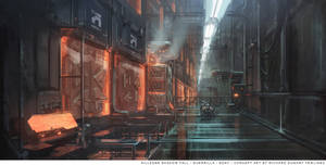 Helghast energy storage and recharging room by RDumont