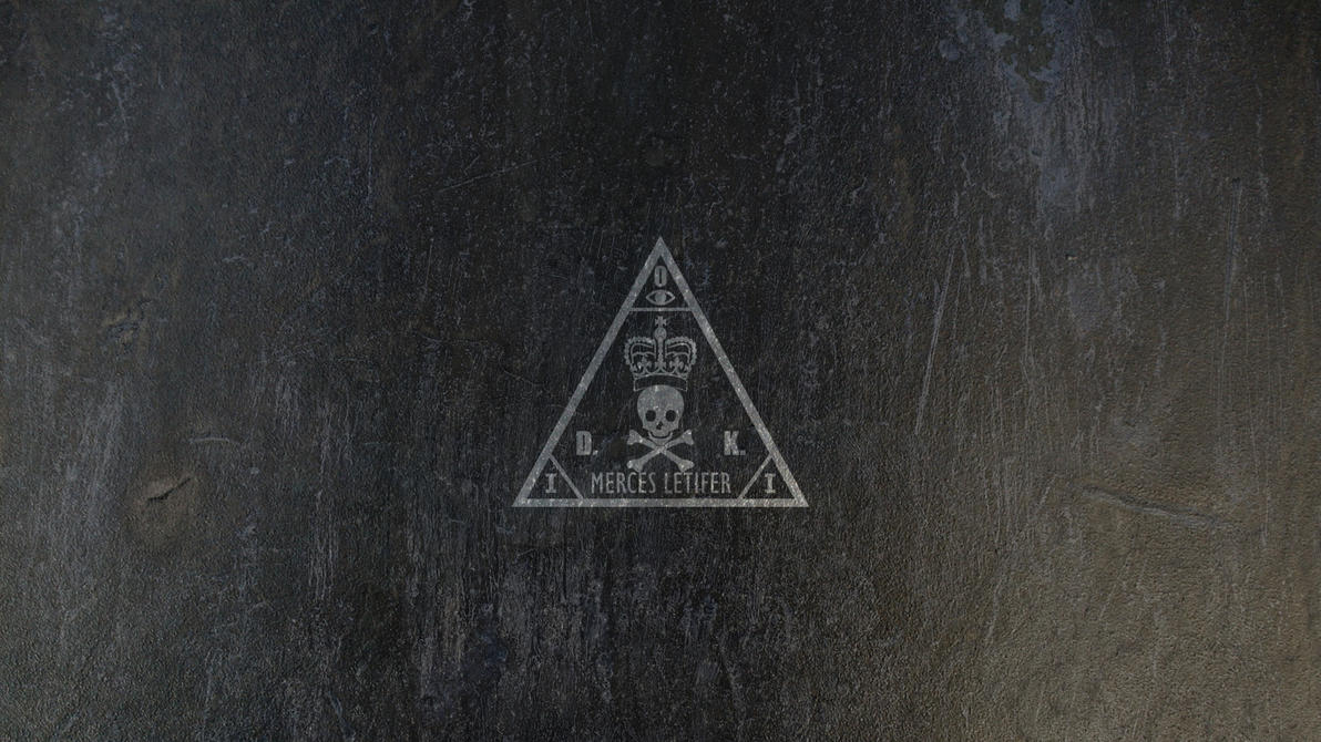 Hitman Agency logo wallpaper (Metal) by bryssis