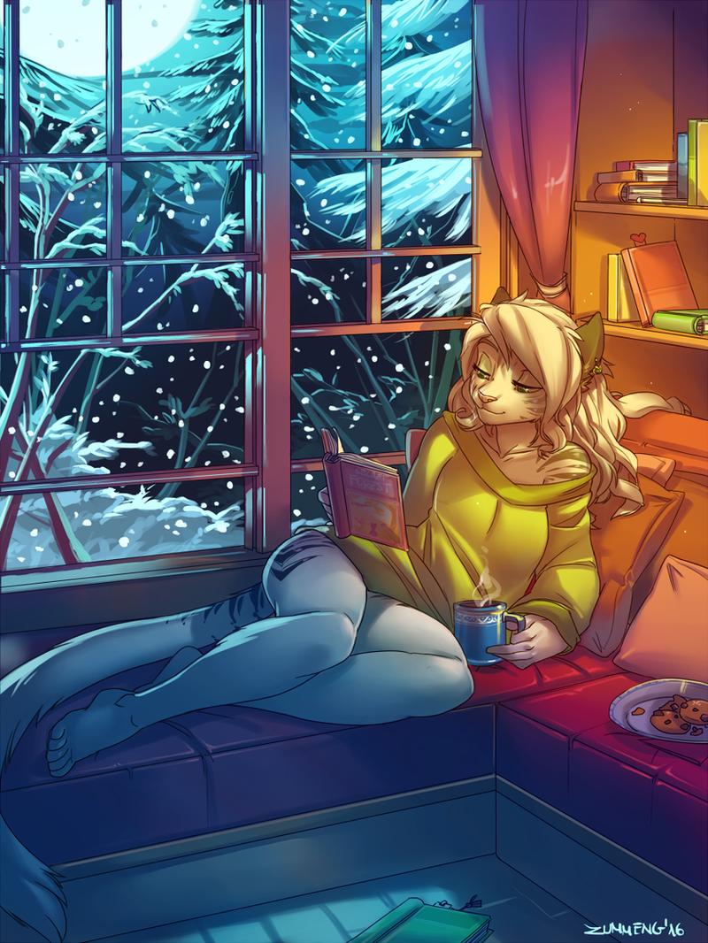 Winter Night by Zummeng