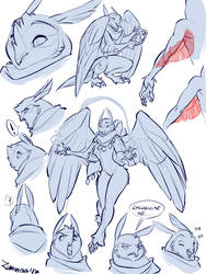 Seluna Character Concept