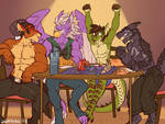COMMISSION - Game Night