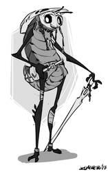 Quirrel - Hollow Knight Fanart