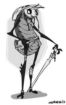 Quirrel - Hollow Knight Fanart by Zummeng