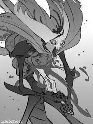Sacrifice - Hollow Knight Fanart by Zummeng