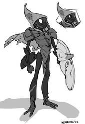 Tiso - Hollow Knight Fanart