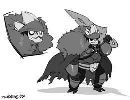 Oro the Nailmaster - Hollow Knight Fanart by Zummeng