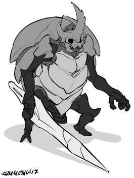 Watcher Knight - Hollow Knight Fanart