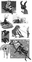 Doodles - Hollow Knight Fanart