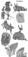 Hollow Knight Sketches #3