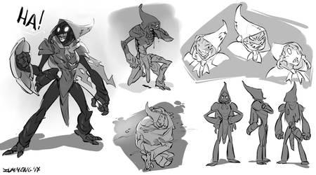 Hollow Knight Fanart - Tiso - Version 2 by Zummeng