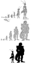 GIFT - Bugs and Lizurds by Zummeng