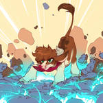 Stomp - Fightin' Herds Fanart