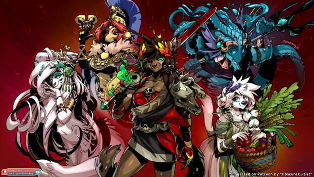 The Hades Gang -Patreon Vote Winner- 4K Wallpaper