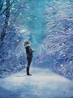 First snow magic by evgeniabel