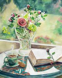 Sweet tea time by evgeniabel