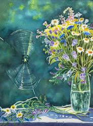 Field flowers by evgeniabel