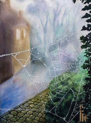 Misty autumn by evgeniabel